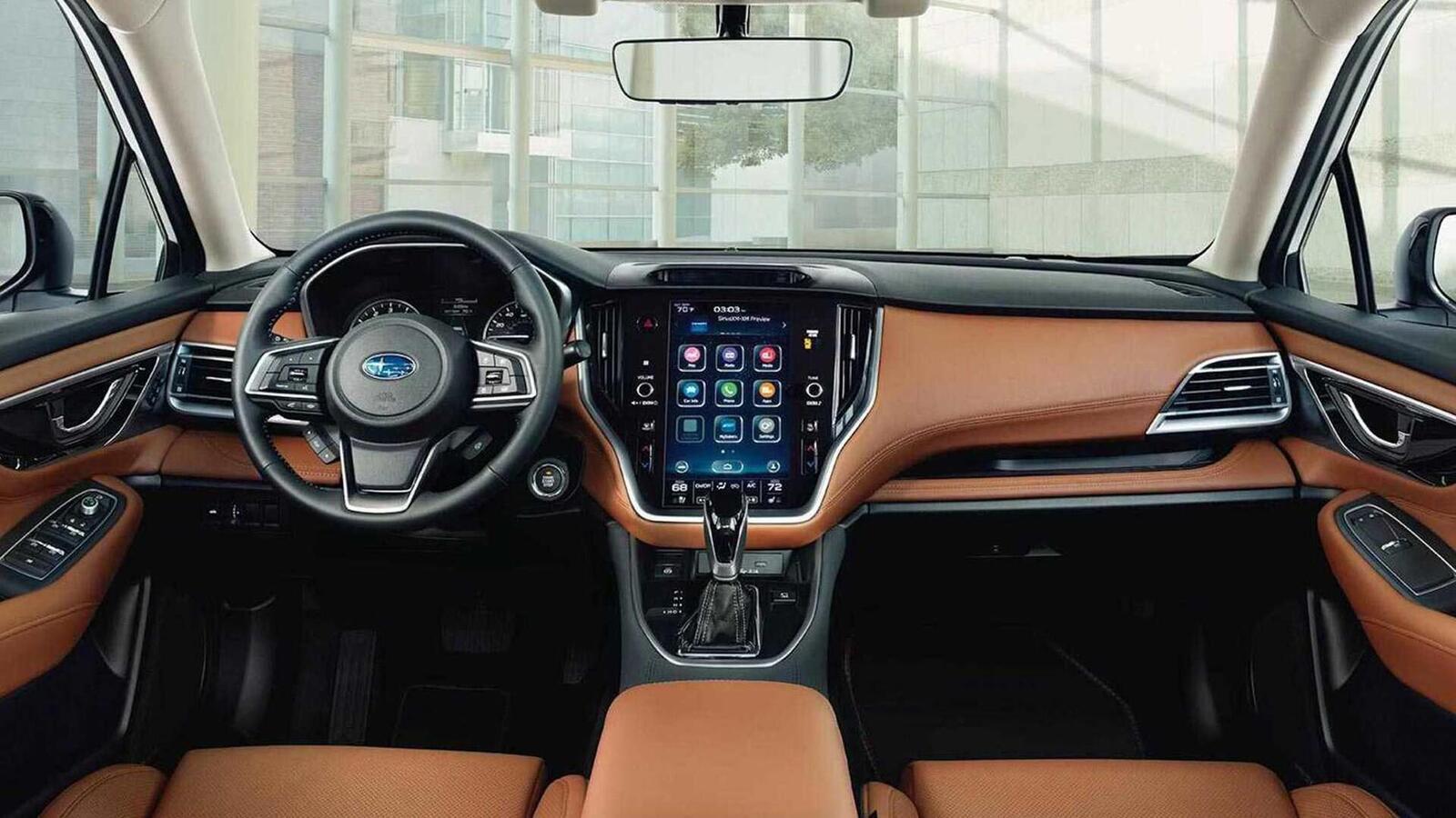 Subaru Legacy thế hệ mới ra mắt; đổi mới thiết kế; có thêm động cơ 2.5L tăng áp - Hình 6