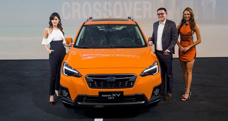 Subaru XV 2018 chính thức ra mắt tại Đài Loan - Hình 1