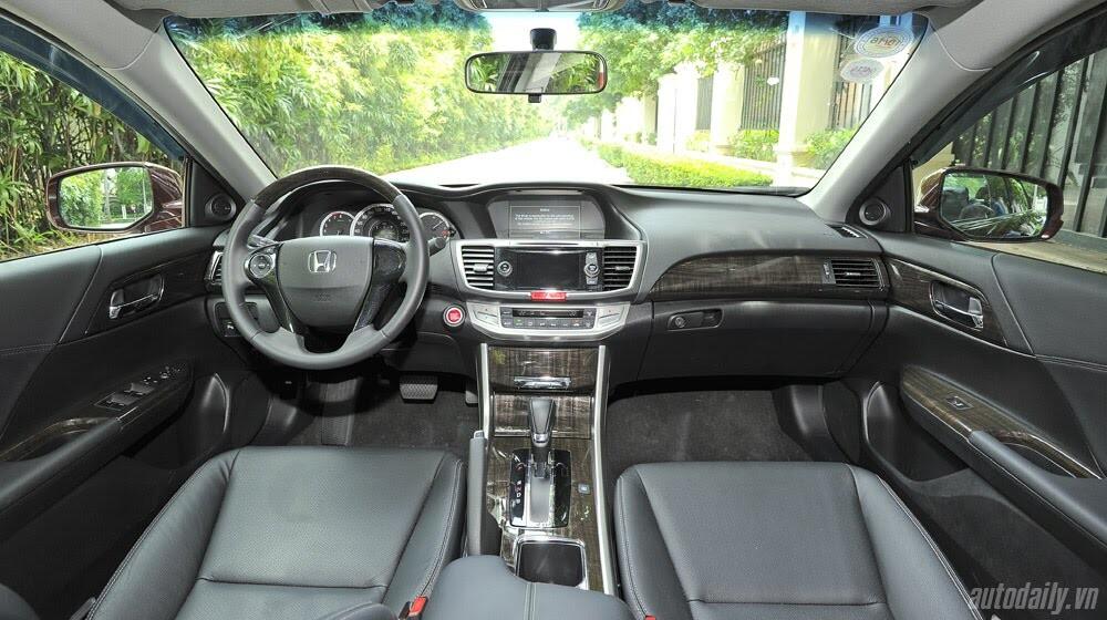 Sức hấp dẫn từ Honda Accord 2014, giá 1,47 tỷ đồng - Hình 13