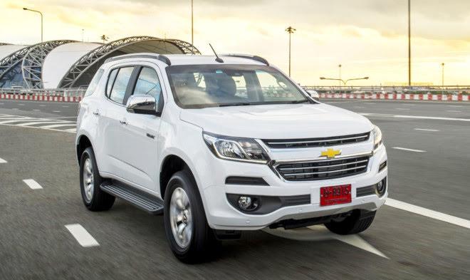SUV 7 chỗ Chevrolet Trailblazer chuẩn bị ra mắt ở Việt Nam - Hình 1