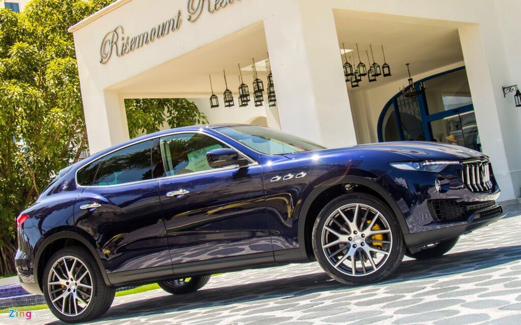 SUV hạng sang Maserati Levante màu lạ ở Đà Nẵng - Hình 1