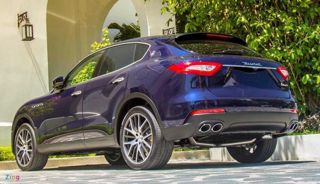 SUV hạng sang Maserati Levante màu lạ ở Đà Nẵng - Hình 2