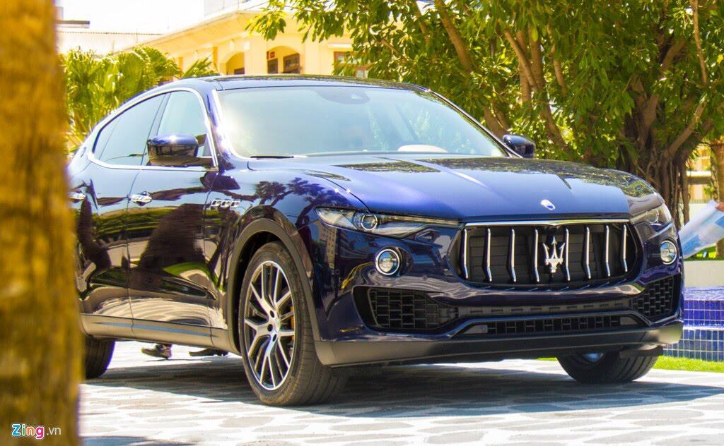 SUV hạng sang Maserati Levante màu lạ ở Đà Nẵng - Hình 3