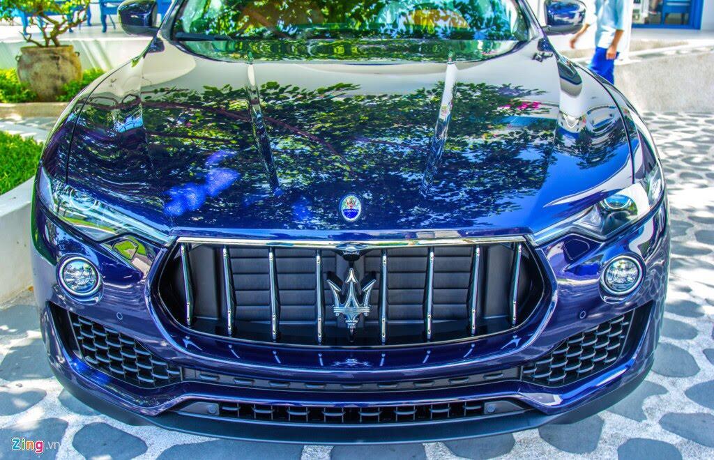 SUV hạng sang Maserati Levante màu lạ ở Đà Nẵng - Hình 4