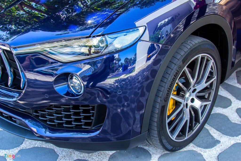 SUV hạng sang Maserati Levante màu lạ ở Đà Nẵng - Hình 5