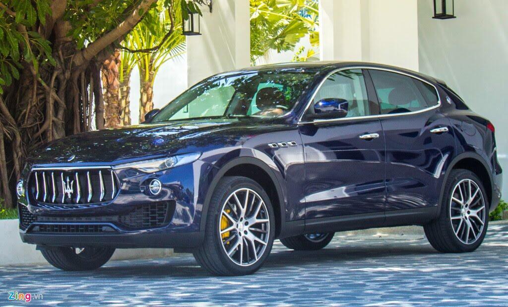 SUV hạng sang Maserati Levante màu lạ ở Đà Nẵng - Hình 6