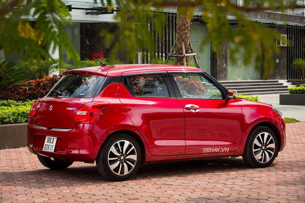 Suzuki All New Swift 2018 - Trẻ trung, năng động, đầy hứng khởi - Hình 8