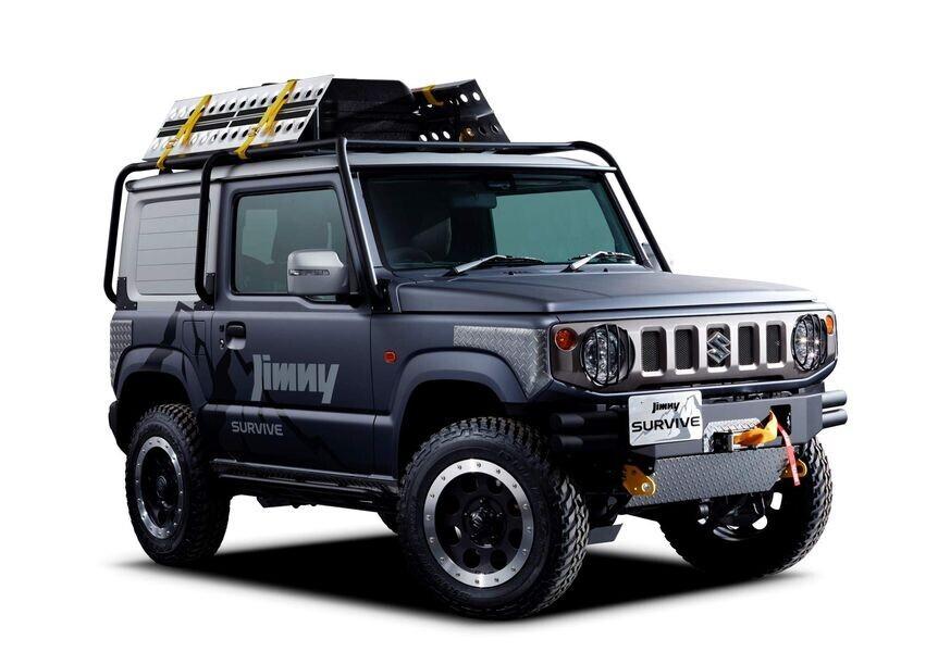Suzuki chuẩn bị tung phiên bản xe bán tải dựa trên Jimny thế hệ mới - Hình 1