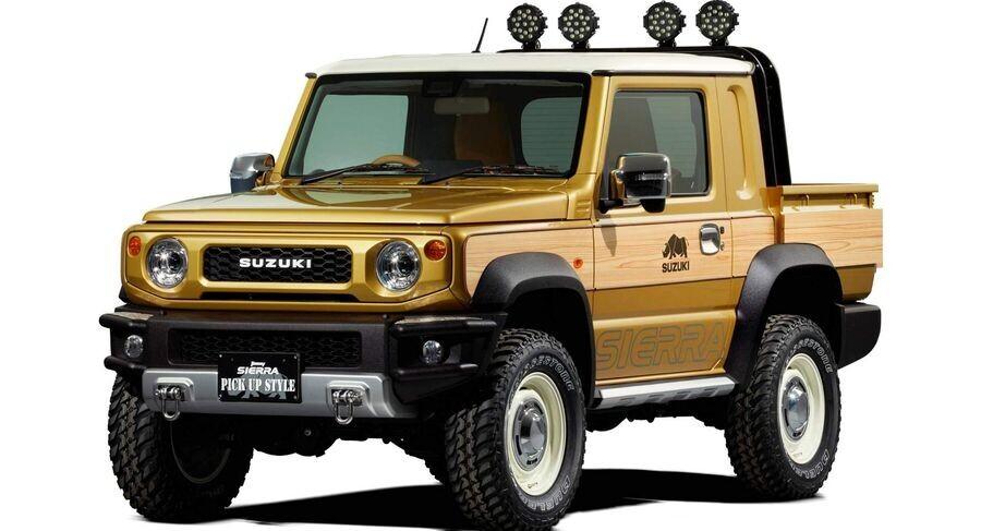 Suzuki chuẩn bị tung phiên bản xe bán tải dựa trên Jimny thế hệ mới - Hình 2