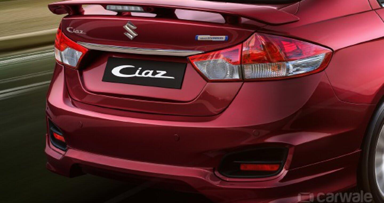 Suzuki Ciaz 2017 trình làng bản thể thao S - Hình 3