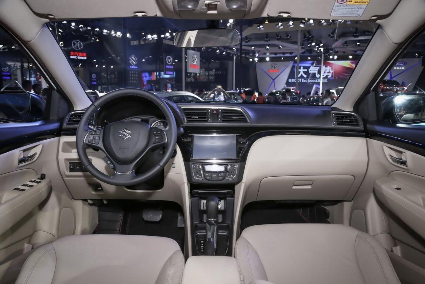 Suzuki Ciaz bản nâng cấp chính thức lộ diện - Hình 8