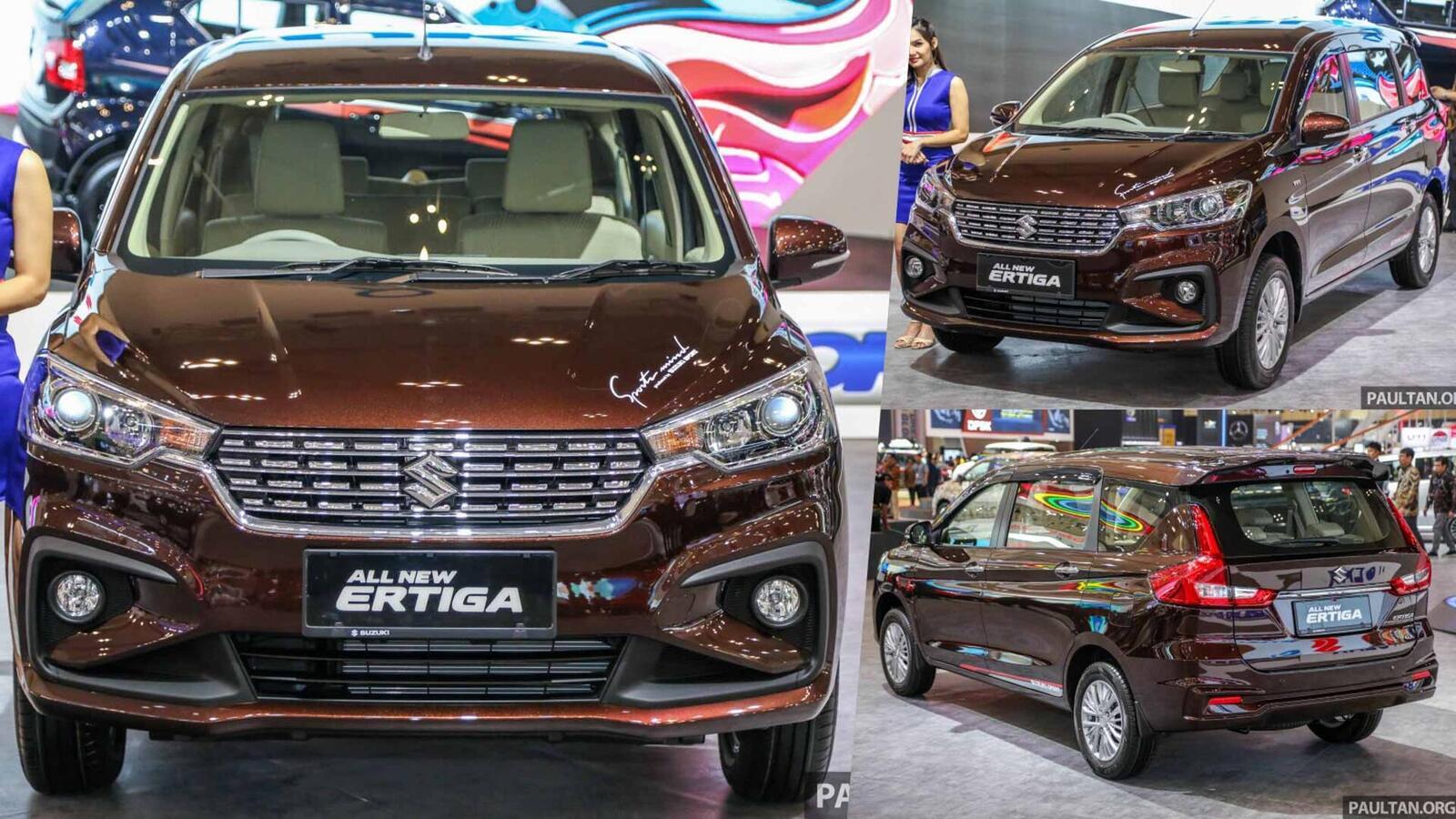 Suzuki Ertiga thế hệ sẽ về Việt Nam trong năm nay; cạnh tranh với Rush và Xpander - Hình 1