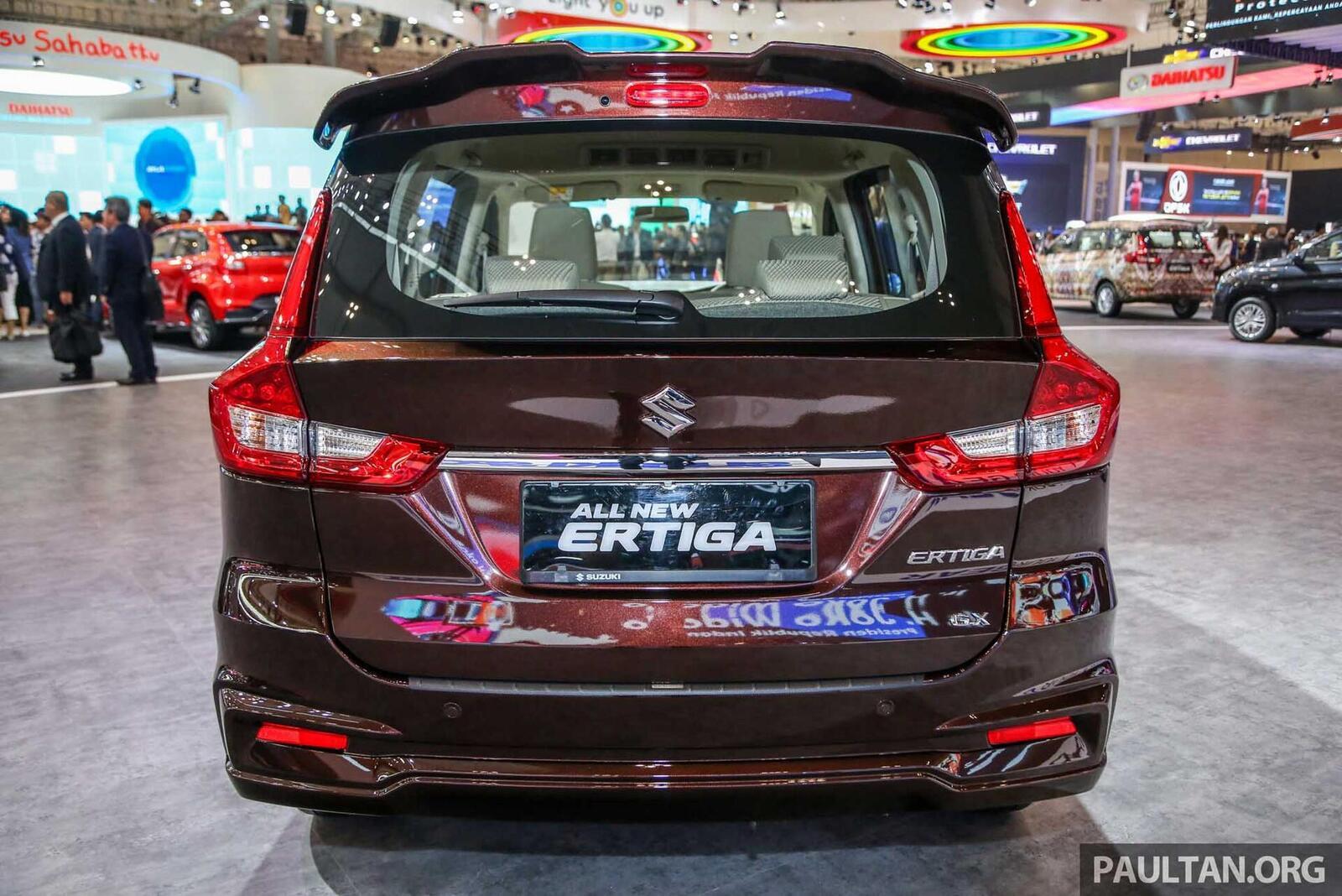 Suzuki Ertiga thế hệ sẽ về Việt Nam trong năm nay; cạnh tranh với Rush và Xpander - Hình 14