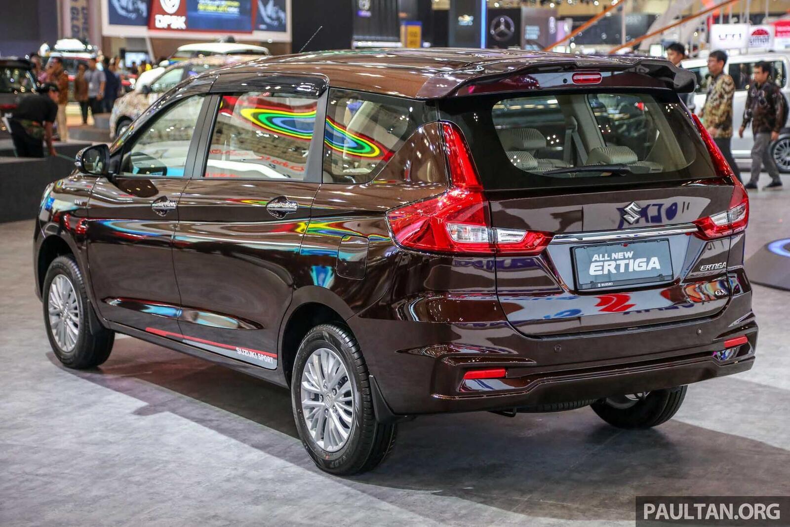 Suzuki Ertiga thế hệ sẽ về Việt Nam trong năm nay; cạnh tranh với Rush và Xpander - Hình 4
