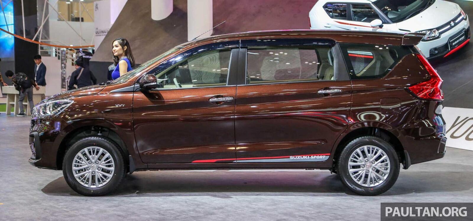 Suzuki Ertiga thế hệ sẽ về Việt Nam trong năm nay; cạnh tranh với Rush và Xpander - Hình 6