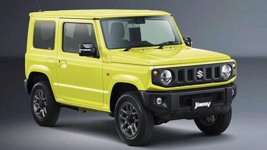Suzuki Jimny 2019 giống như một chiếc G-Wagen