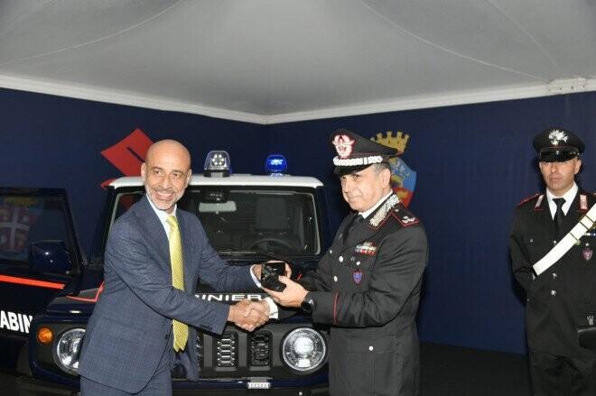 Suzuki Jimny có phiên bản đặc biệt cho cảnh sát