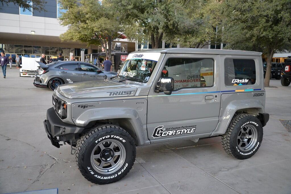 Suzuki Jimny lột xác với bản độ dữ dằn hơn, động cơ thêm tăng áp