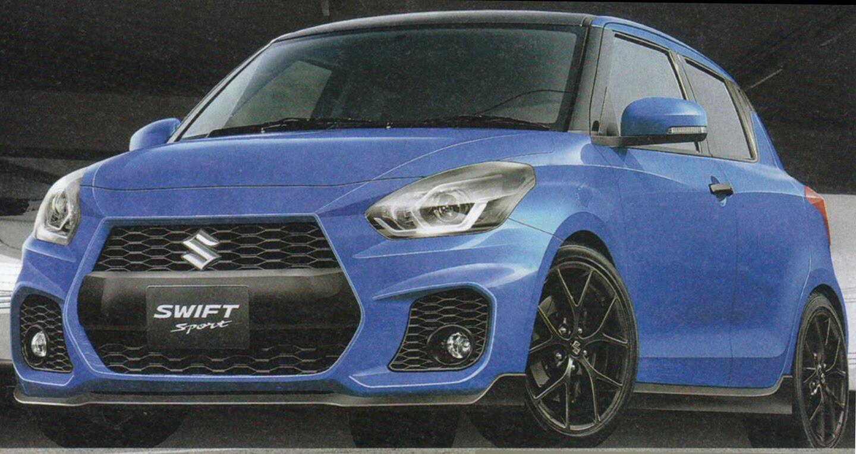 Suzuki Swift Sport 2017 lộ ảnh phác họa - Hình 1