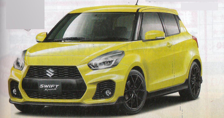 Suzuki Swift Sport 2017 lộ ảnh phác họa - Hình 3