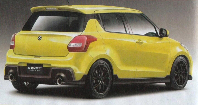 Suzuki Swift Sport 2017 lộ ảnh phác họa - Hình 4