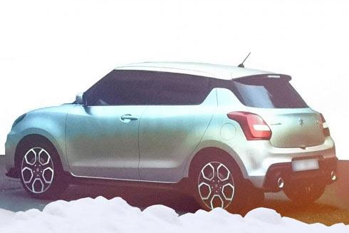 Suzuki Swift Sport - hatchback thể thao mới sắp ra mắt - Hình 2
