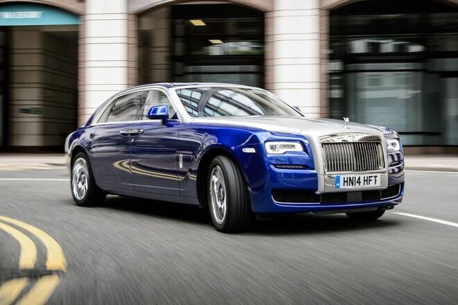 Tạm biệt Rolls-Royce Ghost