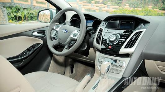Tận hưởng công nghệ trên Ford Focus Titanium + - Hình 8
