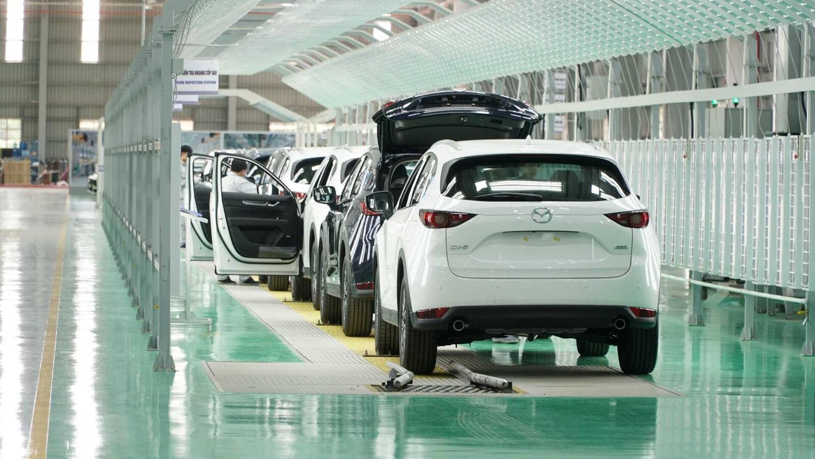 Thaco khánh thành nhà máy sản xuất xe Mazda lớn nhất Đông Nam Á - Hình 1