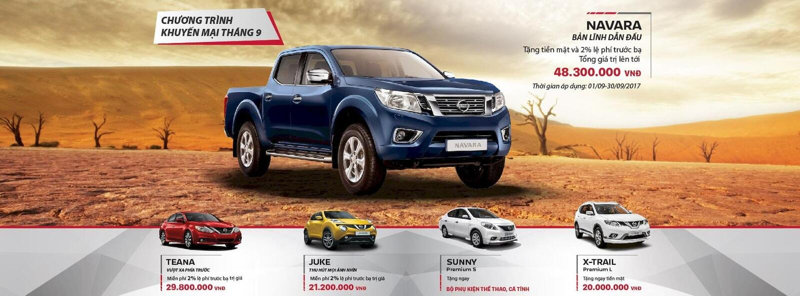 Tháng 9, mua Nissan Navara nhận quà tặng trị giá gần 50 triệu đồng - Hình 1