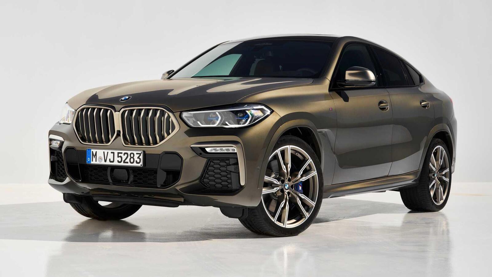 Thế hệ mới BMW X6 2020 chính thức ra mắt - Hình 7