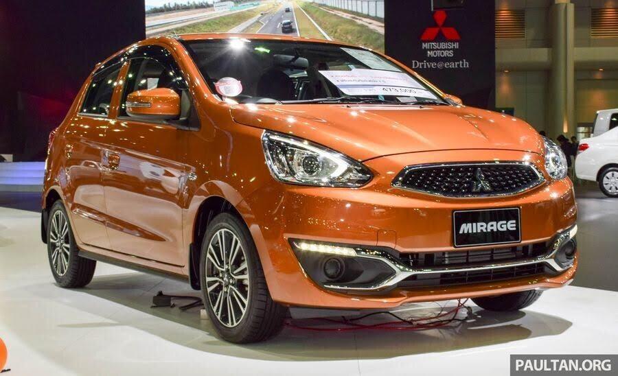 Thế hệ tiếp theo của Mitsubishi Mirage sẽ ra mắt vào năm 2019 - Hình 1