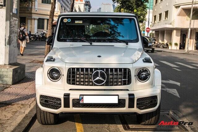 Thêm một chiếc Mercedes-AMG G 63 Edition 1 xuất hiện trên phố Sài Gòn, màu sắc dễ gây nhầm lẫn với xe Minh nhựa - Ảnh 8.