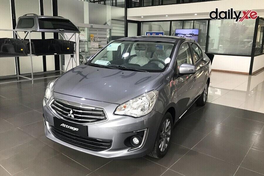 Mitsubishi Attrage vận hành linh hoạt