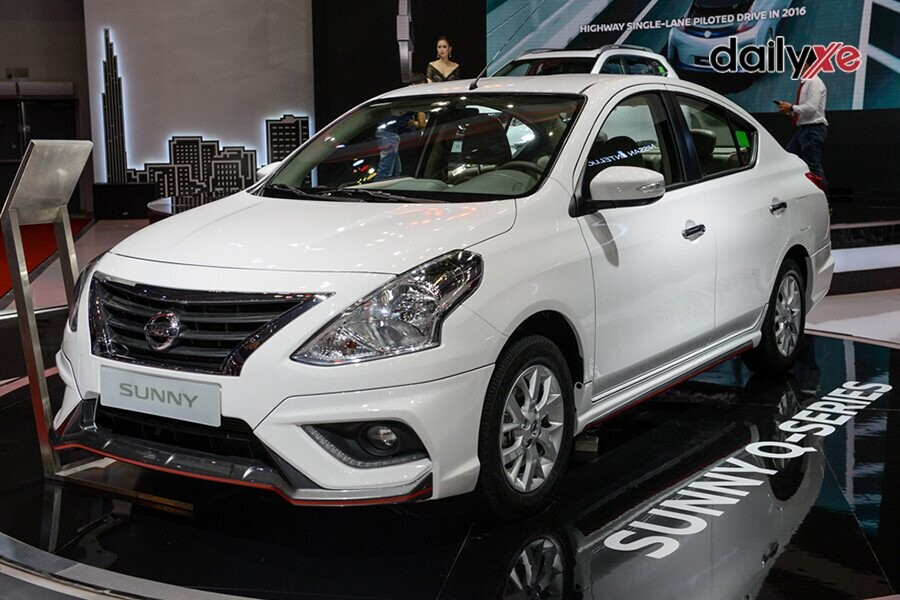 Nissan Sunny thiết kế trẻ trung