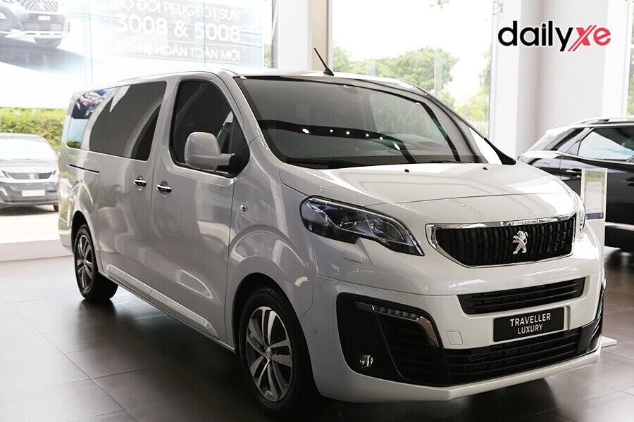 Peugeot Traveller thiết kế tiện nghi rộng rãi