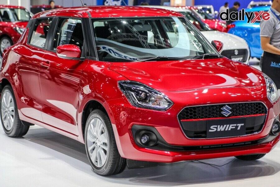 Suzuki Swift thiết kế tiện nghi