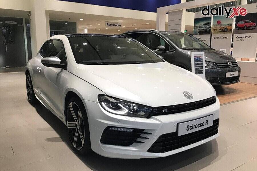 Volkswagen Scirocco là mẫu xe có ngoại thất đậm chất thể thao