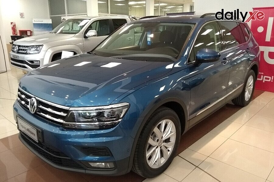 Volkswagen Tiguan Allspace chiếc SUV thiết kế sang trọng