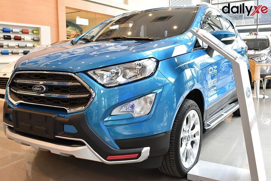 Ford Ecosport sở hữu ngoại hình mạnh mẽ