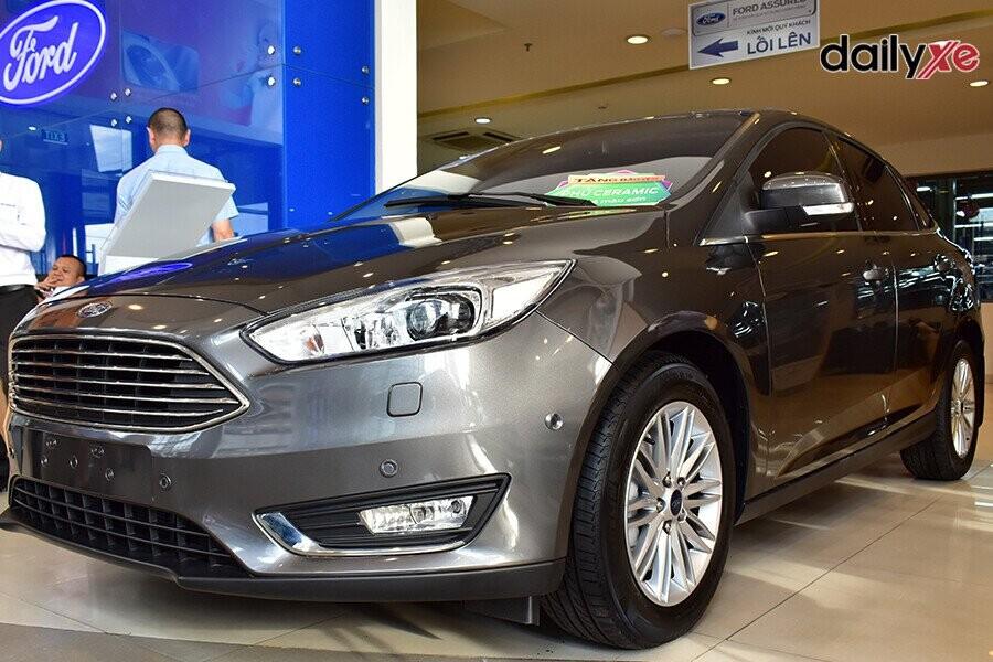 Ford Focus  sở hữu ngoại hình và không gian rộng rãi