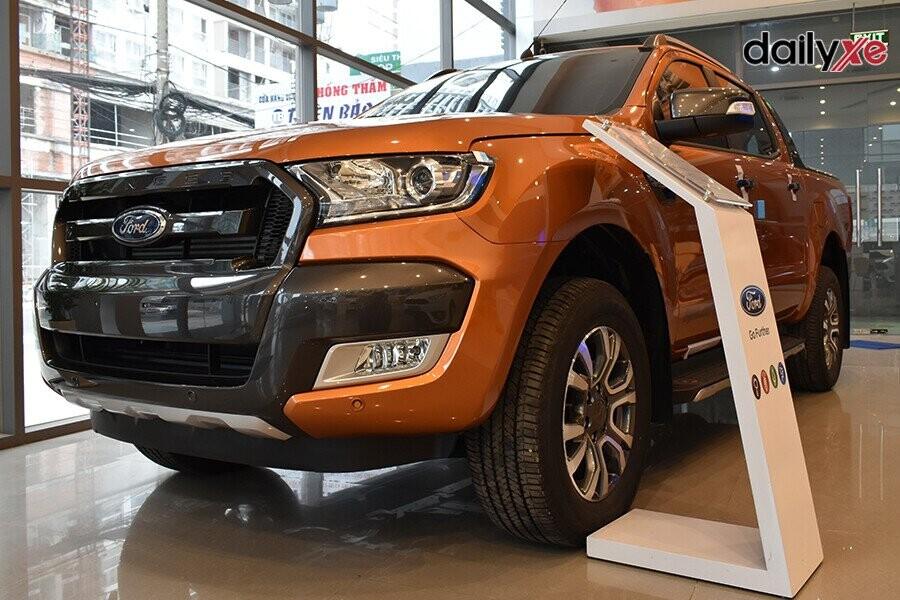 Ford Ranger diện mạo bề ngoài được cải tiến theo phong cách hầm hố