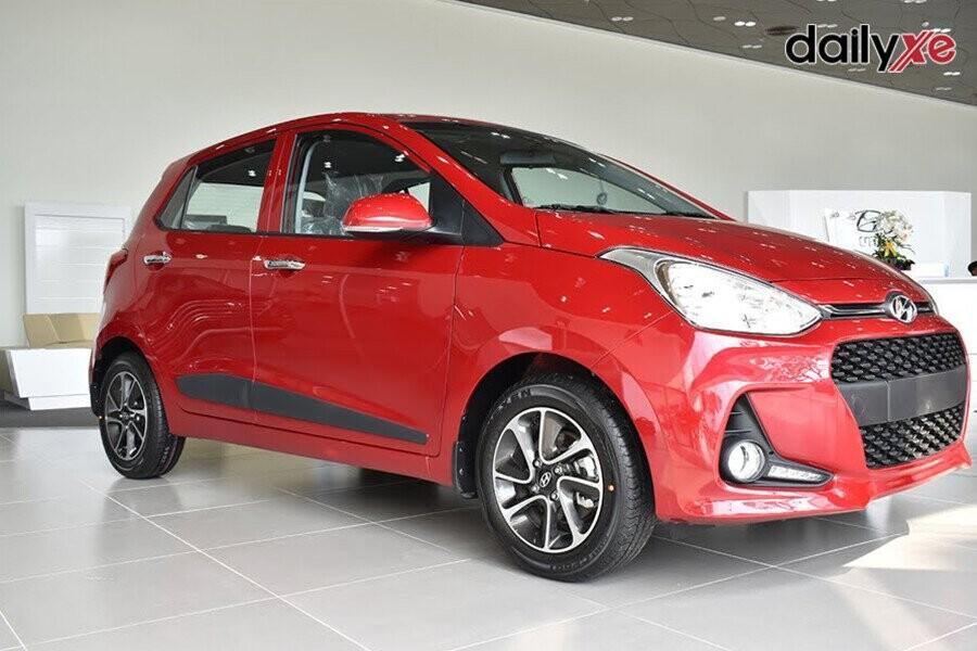 Hyundai i10 Hatchback sở hữu vẻ ngoài bắt mắt, trẻ trung