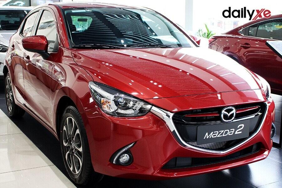 Mazda 2 thiết kế hiện đại