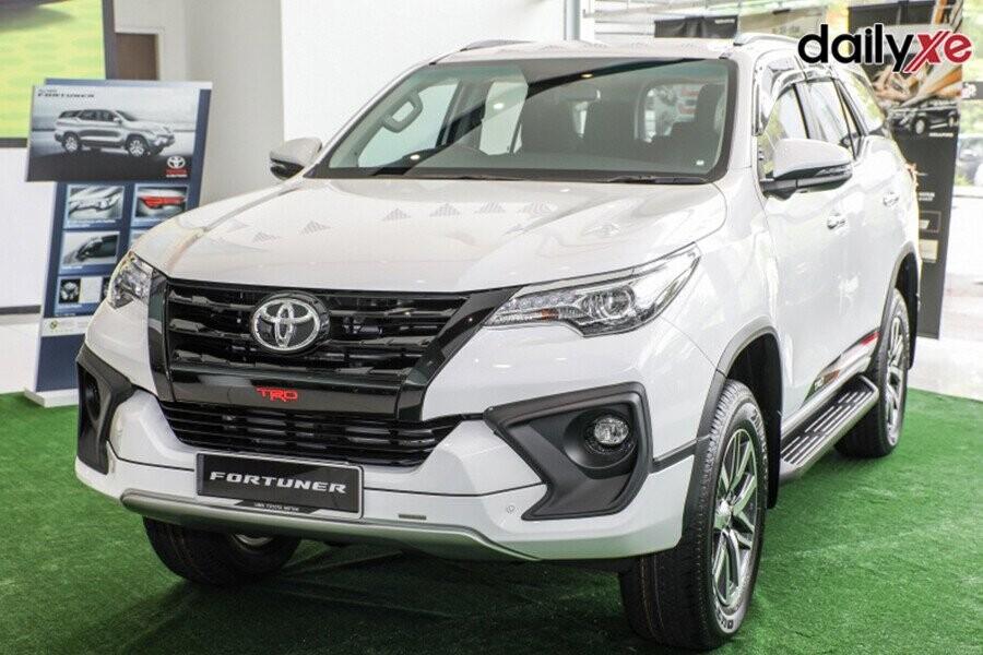 Toyota Fortuner mang đậm thiết kế trẻ trung và thể thao