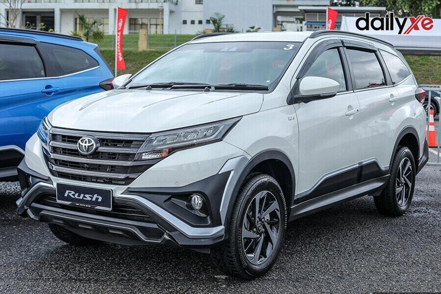 Toyota Rush vận hành mạnh mẽ