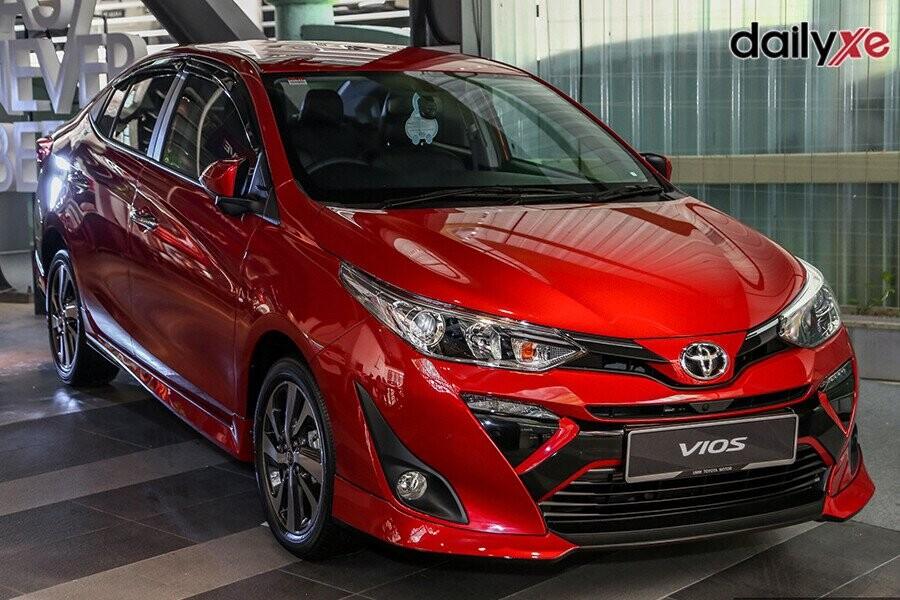 Toyota Vios 2020 sở hữu thiết kế mới