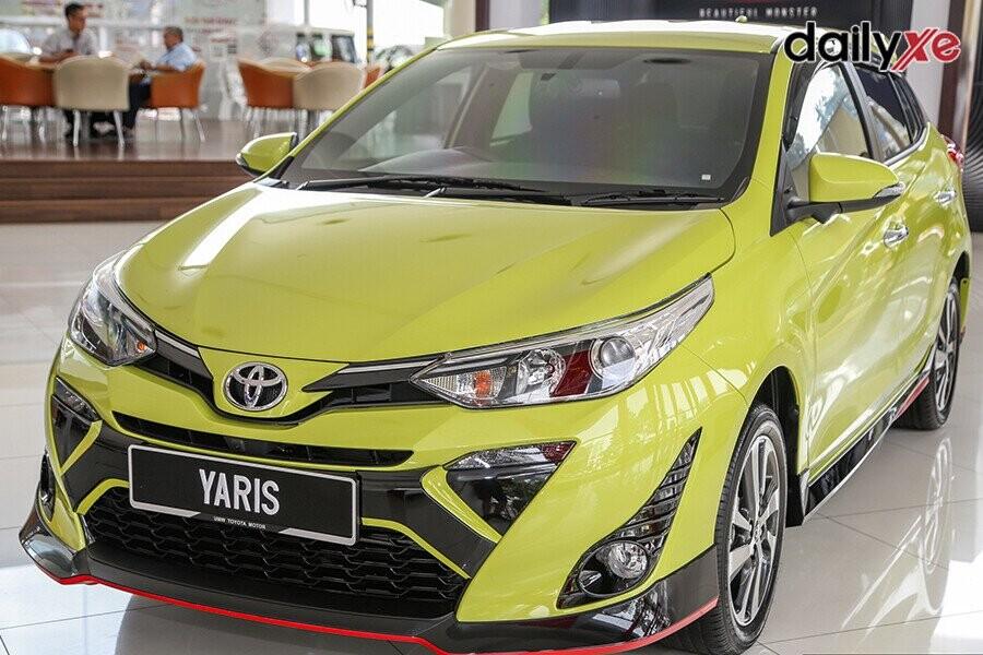 Toyota Yaris sở hữu diện mạo hiện đại