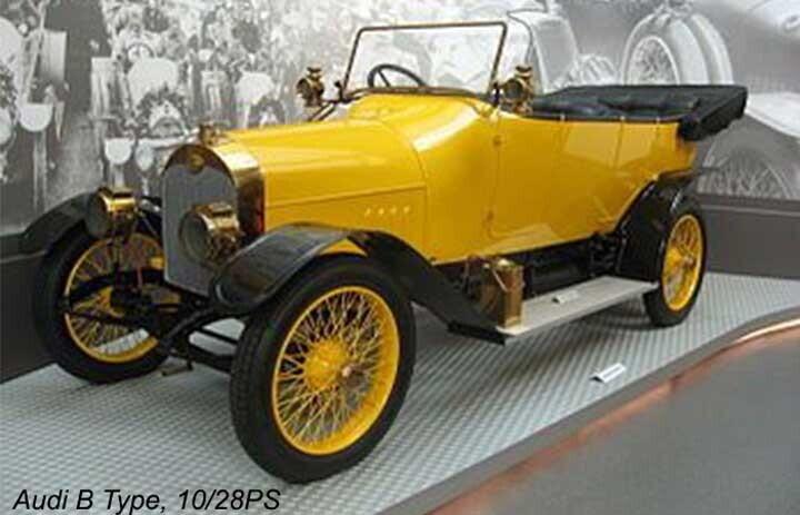Chiếc xe Audi đầu tiên B Type, 10/28PS
