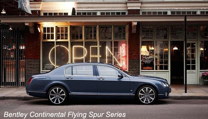 Bentley Continental Flying Spur Series